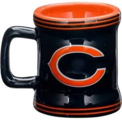 Officially Licensed NFL Chicago Bears Mini Mug Hanging Christmas Ornament