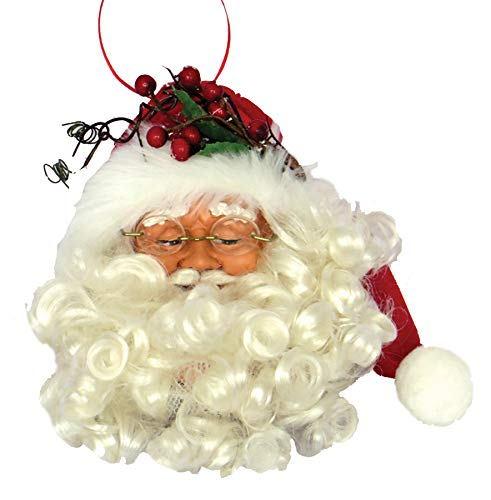 Santa's Workshop Jolly Old St Nicholas ORN Ornament 7.50″ Tall Red/White