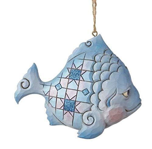 Enesco Coastal Fish Ornament, Multicolor