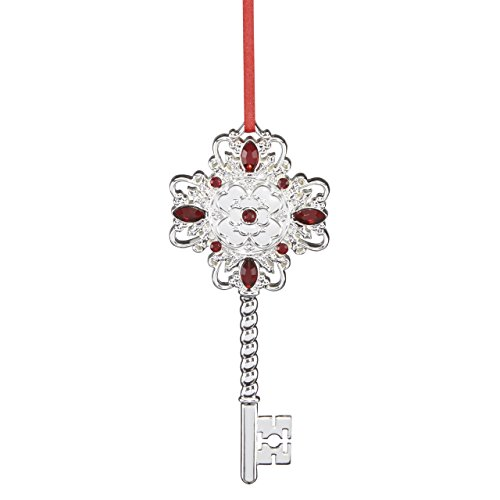 Reed & Barton Holly Berry Key Ornament