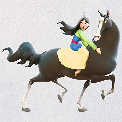 Hallmark Keepsake Christmas Ornament 2018 Year Dated, Disney Mulan A Girl's Best Friend