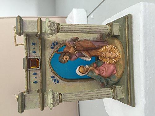 Fontanini Roman Pillared Entrance Ornament 56279
