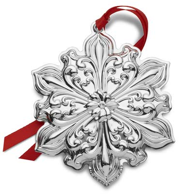 Towle 2019 Old Master Snowflake-30th Anniversary Edition Holiday Ornament Metal