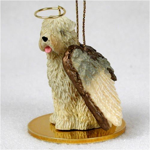 Conversation Concepts Soft Coated Wheaten Terrier Pet Angel Ornament
