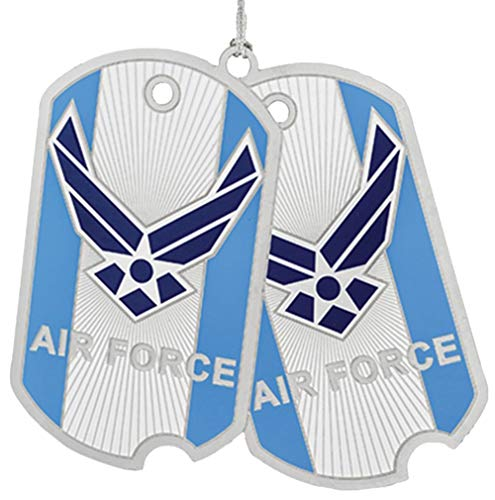 Beacon Design by ChemArt US Air Force Dog Tag Ornament