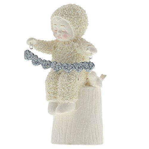 "Department 56 Snowbabies Peace Collection ""A Whole Lot of Love"" Porcelain Figurine, 5"""