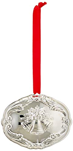 Reed & Barton 877603 Annual Francis I Songs Sterling Ornament, 16th Edition, Silver