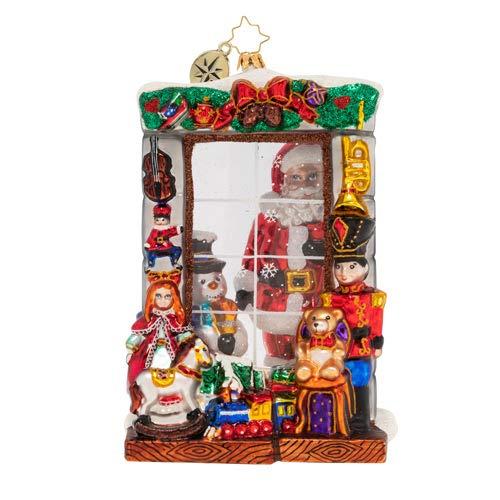 Christopher Radko Window Full of Magic Christmas Ornament, Multicolor
