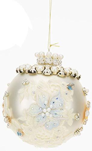Mark Roberts King's Jewel Ball Ornament 5″