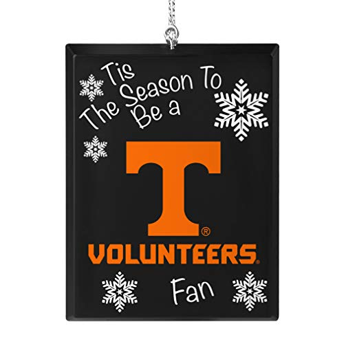 Topperscot Tennessee Volunteers Official NCAA Tis The Season Holiday Christmas Sign Ornament 675503