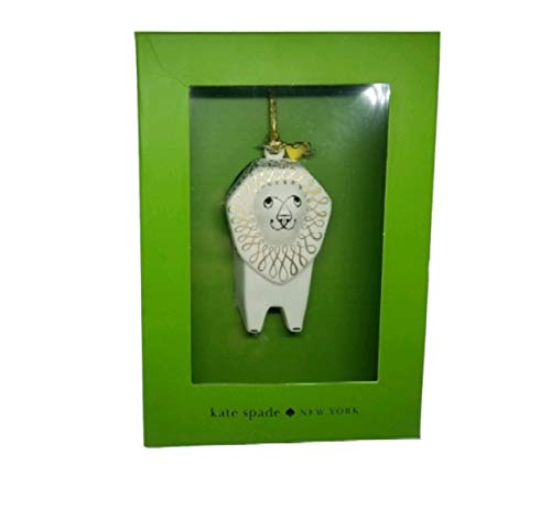 Kate Spade Woodland Park Lion Ornament 3 in