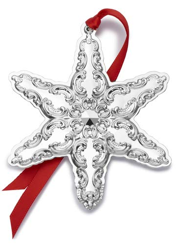 Wallace 2019 Grande Baroque Snowflake-22nd Edition Holiday Ornament Metal