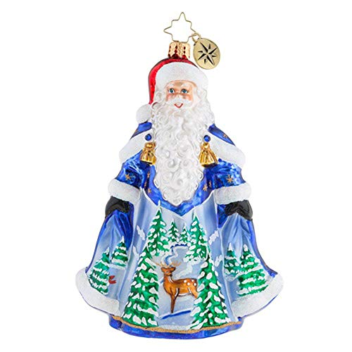 Christopher Radko With Night Clothing In Christmas Ornament