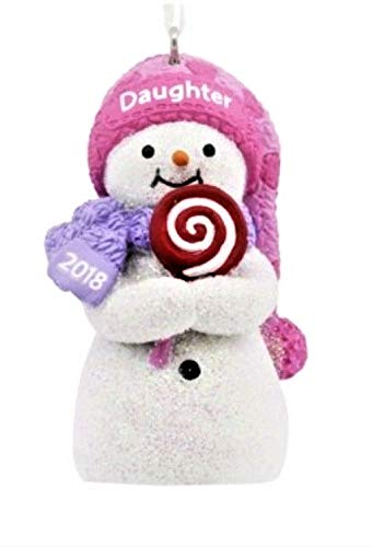 Hallmark Licensing, LLC 2018 Daughter Snowman Christmas Tree Ornament