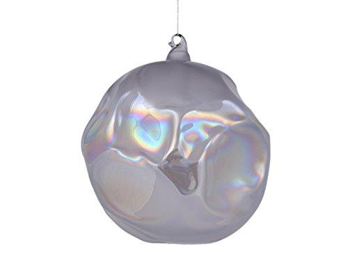 Winward International Inc. Jim Marvin Iridescent 5.9″ Glass BallChristmas Ornament