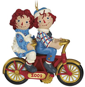 Raggedy Ann & Andy 2009 Ornament by Danbury Mint