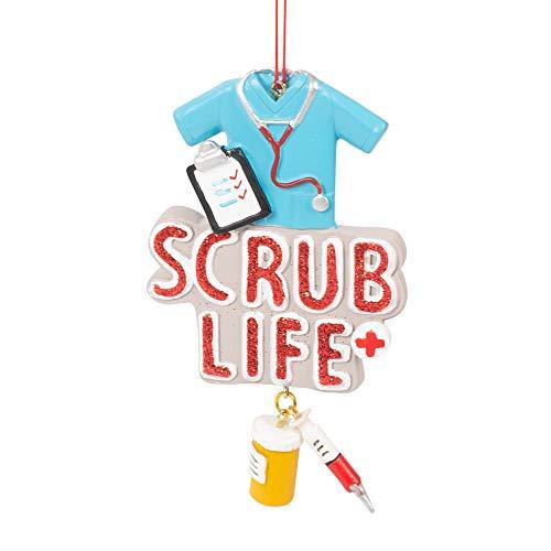 Midwest Gloves Scrub Life Nurse Ornament
