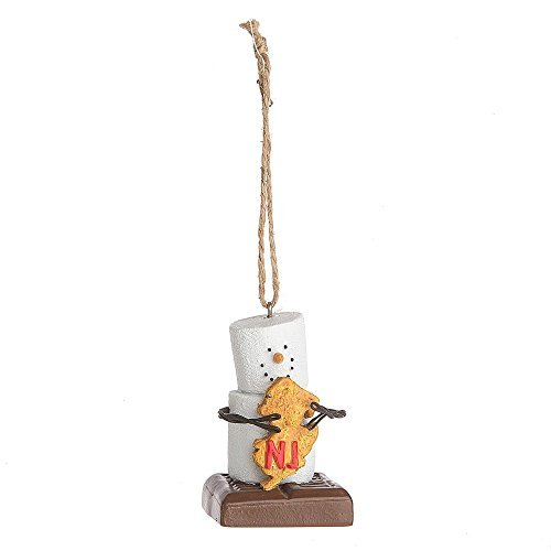 "Midwest CBK S'mores ""New Jersey"" Ornament"