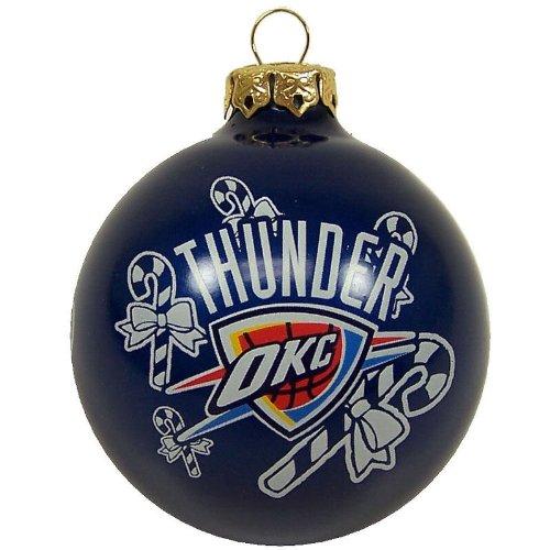 NBA Oklahoma City Thunder Traditional 2 5/8″ Ornament