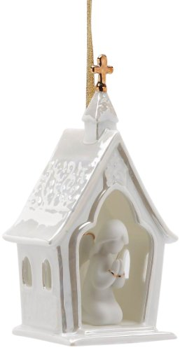 Appletree Design House of Worship Ornament, 4-3/4-Inch Tall