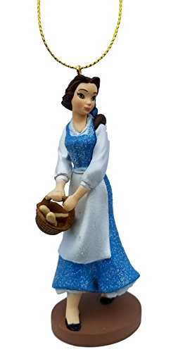 Belle (Princess) Figurine Holiday Christmas Tree Ornament – Limited Availability – Newest Design