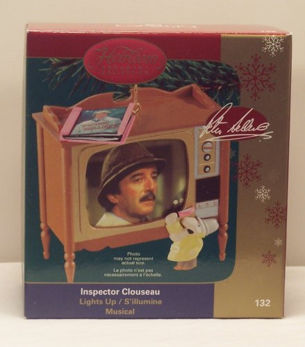 The Pink Panther – Inspector Clouseau – Peter Sellers Carlton Cards 2006 Musical Christmas Ornament