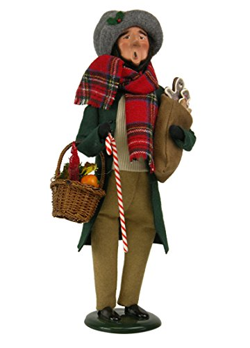 Byers' Choice Crier with Christmas Treats #4321B