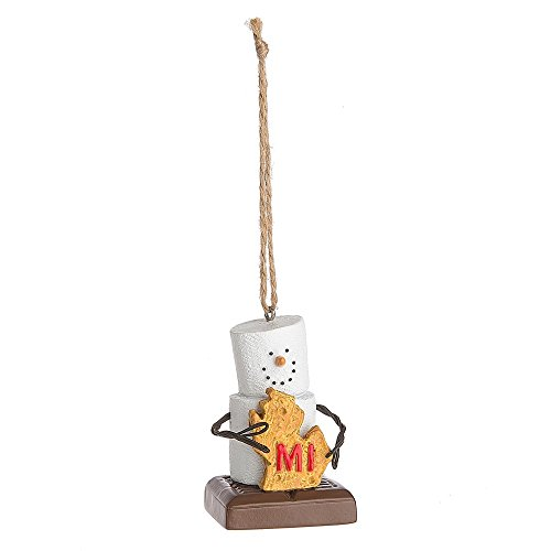 "Midwest CBK S'mores ""Michigan"" Ornament"