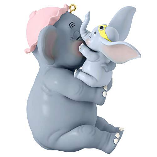 """Hallmark Keepsake 2019 Disney Dumbo Mother's Day Gift """"Baby Mine"""" Porcelain Ornament"""