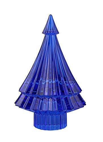 Baccarat Crystal Blue Christmas Tree Noel Mille Nuits Fir