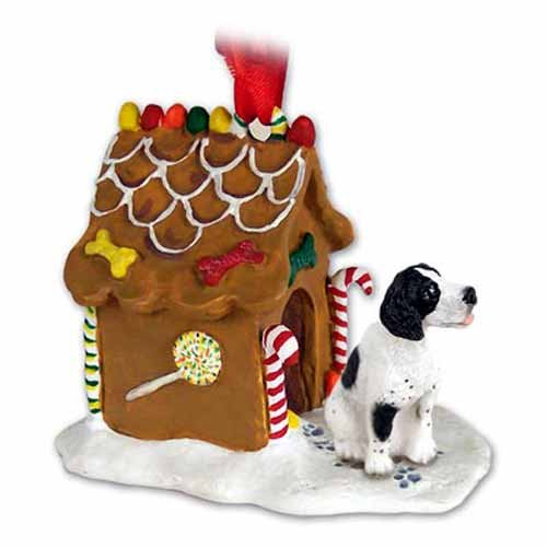 Pointer Gingerbread House Christmas Ornament Black-White – DELIGHTFUL!