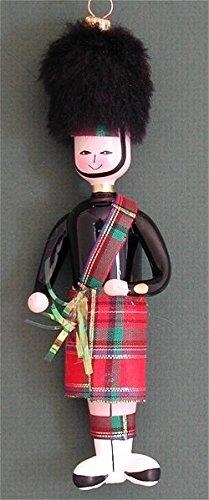 De Carlini Glass Ornament – Scottish Guard – Italian Ornament – One Ornament