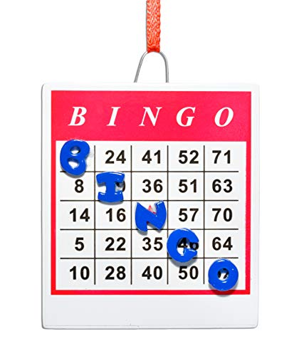 Rudolph and Me Winning Bingo Ornament