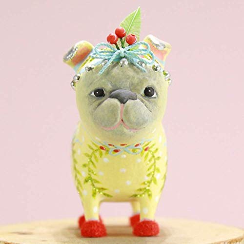 Patience Brewster Mini Prudence Pug Figural Ornament #31313