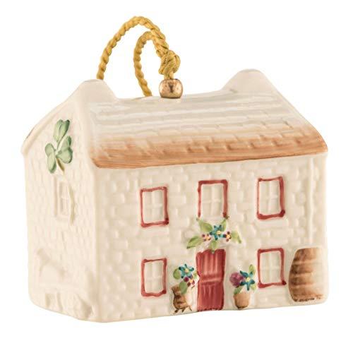 Belleek Kerry Farmhouse Annual Ornament (New for 2018)