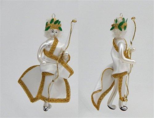 De Carlini Glass Ornament – Greek God – Italian Ornament – One Ornament