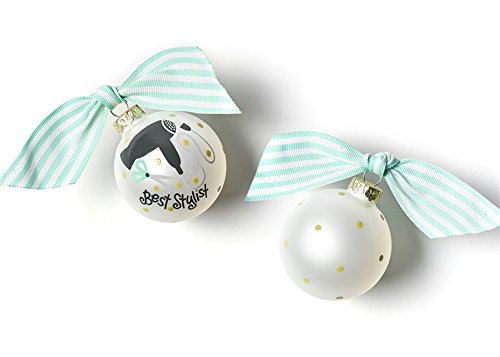 Coton Colors Stylist Glass Ornament