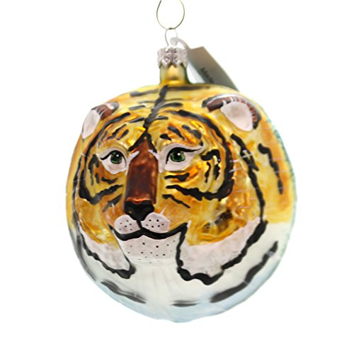 Christina's World Siberian Tiger Glass Ornament Sikhote Alin Russia Zoo842