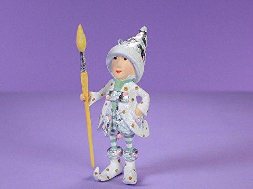 Patience Brewster Moonbeam Vixen's Painter Elf Figural Ornament # 31249
