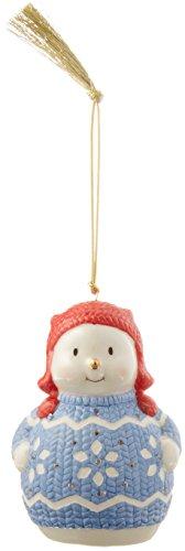Lenox 870929 Christmas Sweater Ornament Snowman