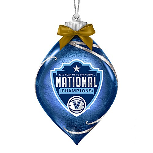 Bradford Exchange The Villanova Wildcats 2018 NCAA Men's Basketball National Champions Ornament