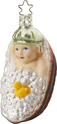 Inge-Glas Bubble Bath Fun 10070S019 German Glass Christmas Ornament