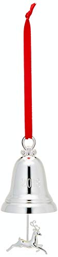 Lenox 2018 5th Annual Silver Plated Bell Ornament