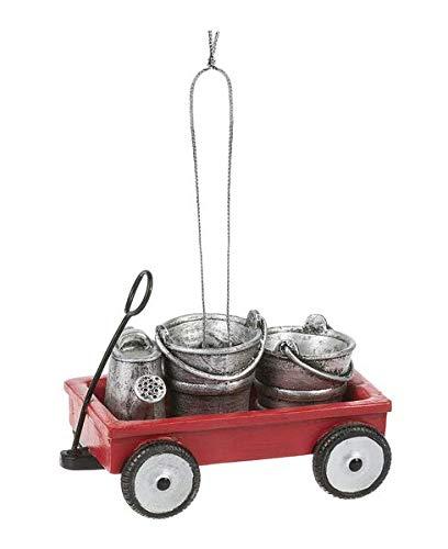 Ganz Red Wagon Ornament