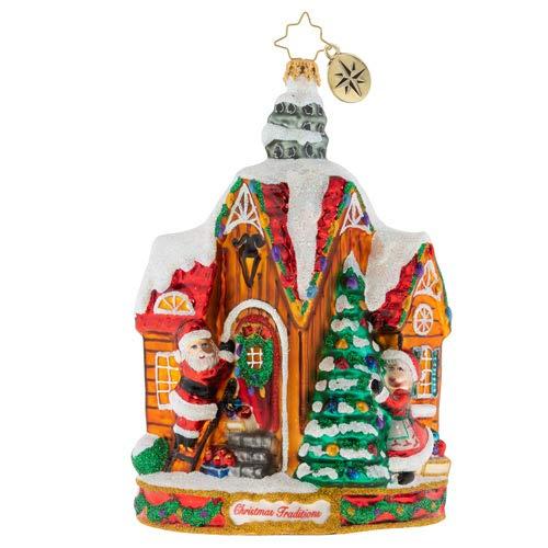 Christopher Radko Decorating Christmas Ornament, Multicolor
