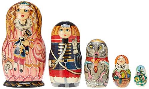 G. Debrekht Clara Nutcracker Nested Doll, 6″
