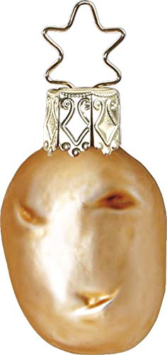 Inge-Glas Mini Potato 10050S019 German Glass Christmas Ornament