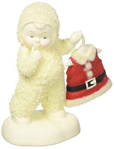 "Department 56 Snowbabies ""Baby's Got New Clothes"" 2018 Anniversary Porcelain Figurine, 4.25"""