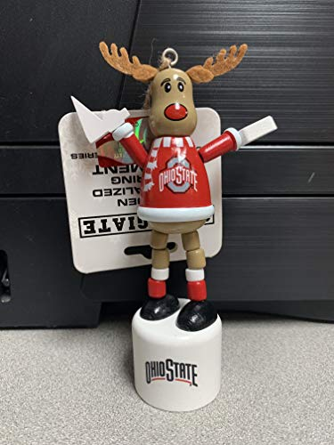 Topperscot Ohio State Reindeer Ornament