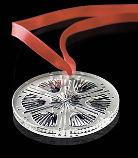Lalique Thistle Christmas Ornament 2005 – 6103800